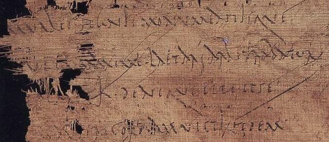 'K' for 'kapitulum' in Cicero's In Verrem, circa 1st century BC/AD