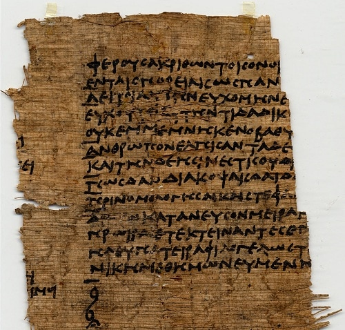 Paragraphoi in Menander&#039;s Sicyonians, circa 3rd century BC