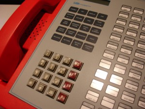 Military Touch-Tone telephone keypad