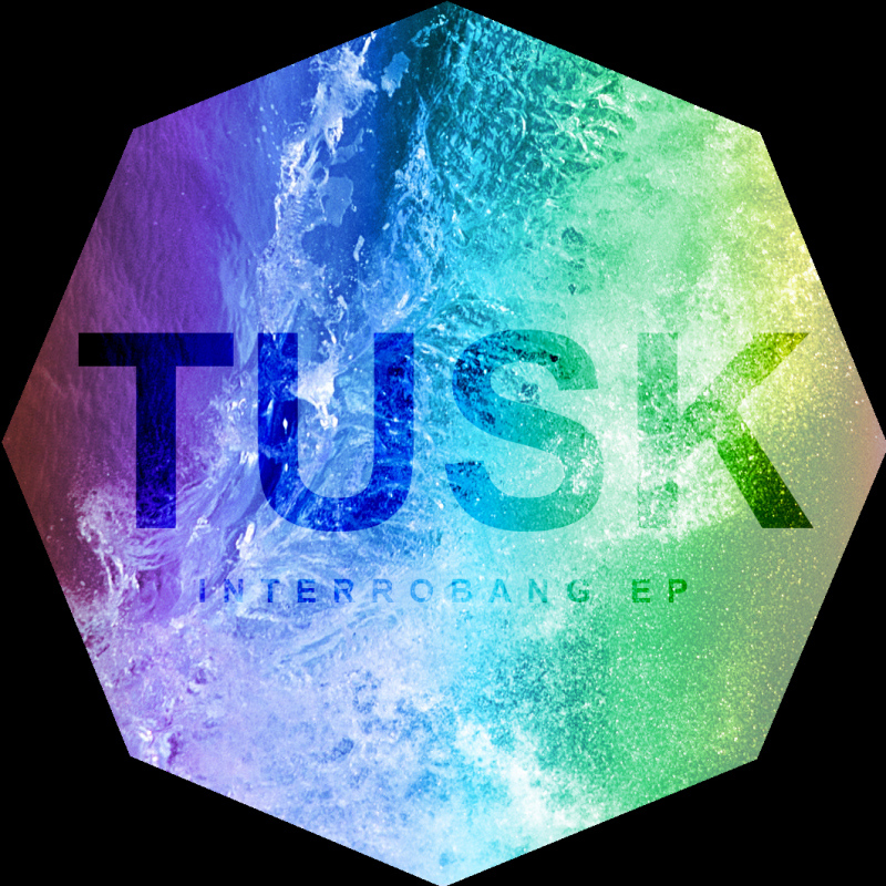 Cover artwork for Tusk's Interrobang EP. (Image courtesy of Tusk.)