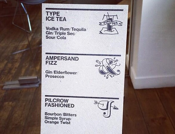 Are you thirsty? I'm thirsty. (Image courtesy of @Monotype on Twitter.)