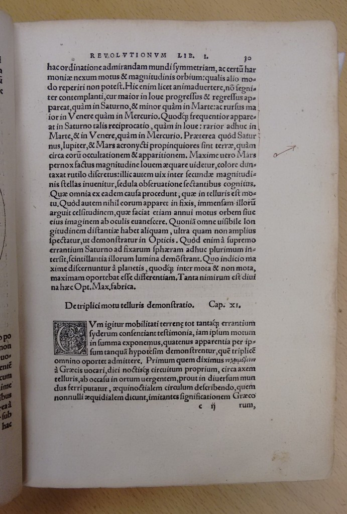 Nicholas Copernicus [1473-1543]: De Revolutionibus Orbium Coelestium (1st. edition) (Nuremberg, 1543). 'On the revolution of the heavenly bodies'.