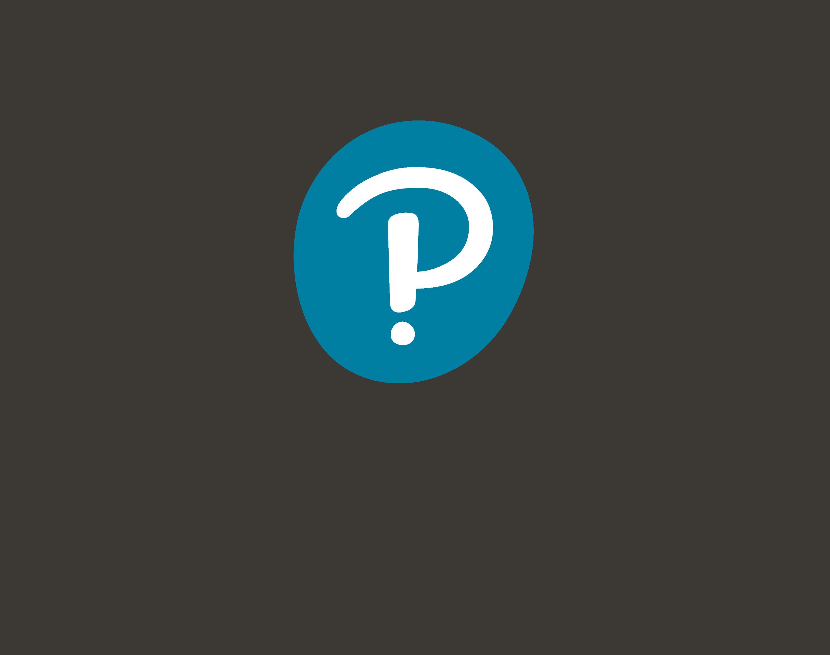 Pearson interrobang logo