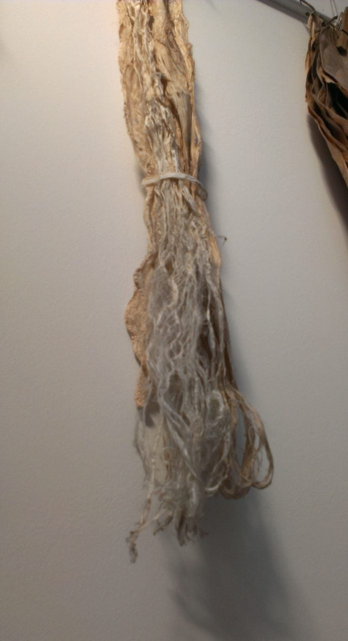 The dried inner bark of the kozo plant