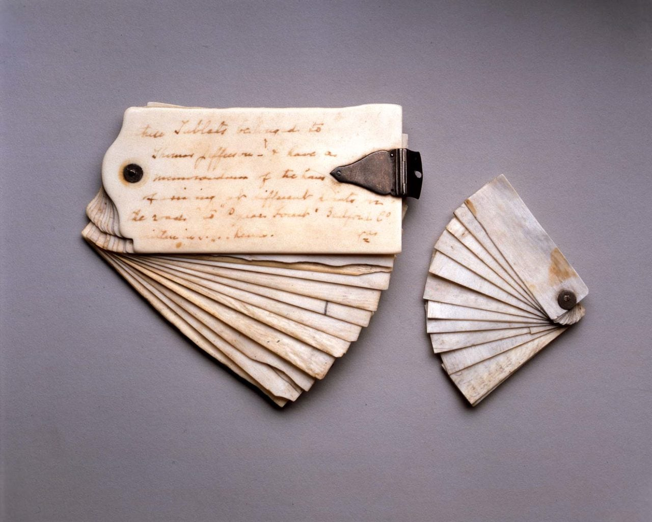 Thomas Jefferson's ivory notebooks